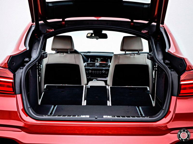 Багажный отсек авто BMW X4