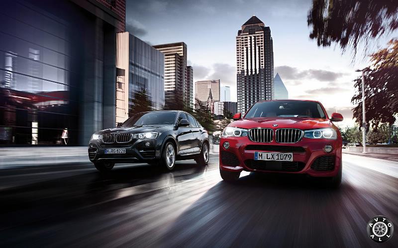 Фото нового авто BMW X4