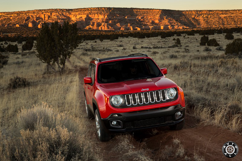 Jeep Renegade 2015 года