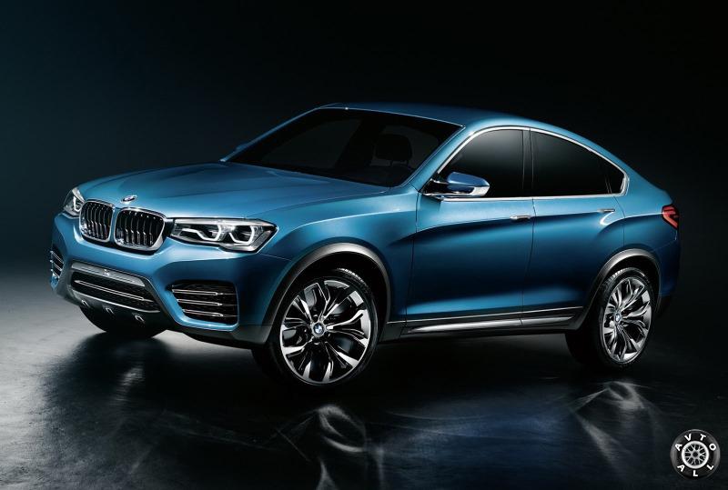 Кроссовер BMW X4 фото