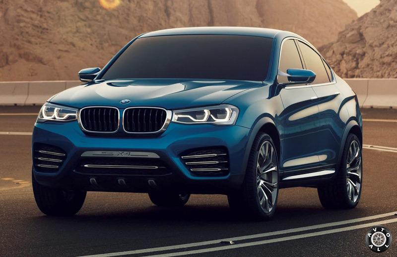 Новинка авто BMW X4 2014
