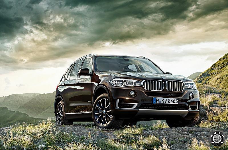 Спортивный BMW X5 фото