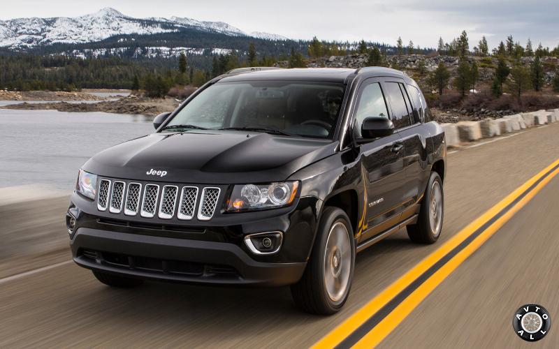 Тест драйв Jeep Compass