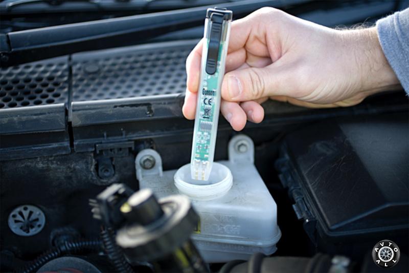 Тестер уровня тормозной жидкости