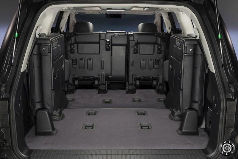 Toyota Land Cruiser 200 багажник