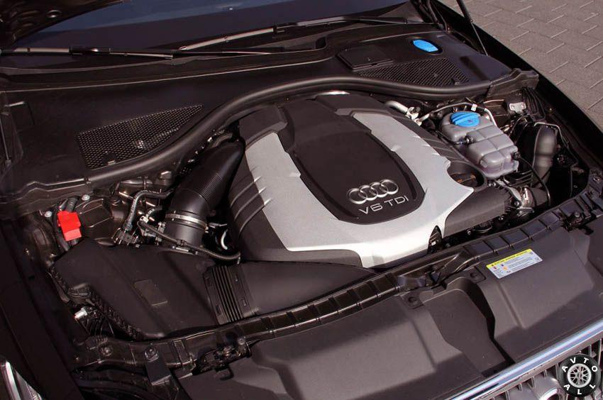 Audi A6 allroad quattro двигатель