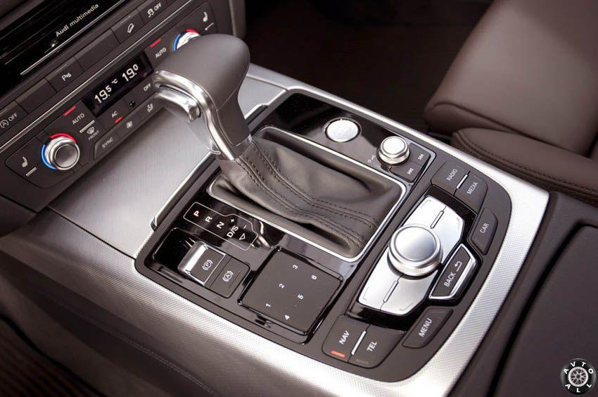 Audi A6 allroad quattro КПП