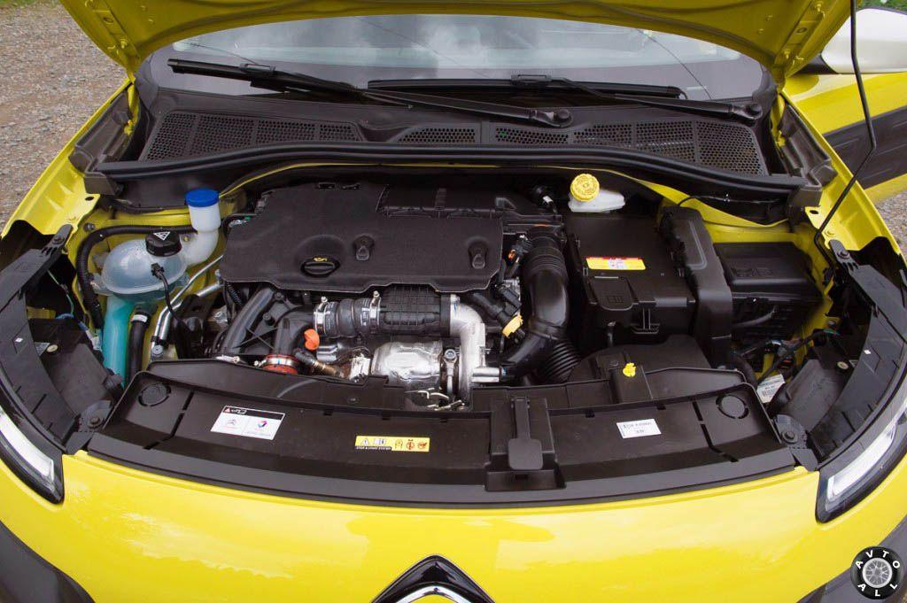 Citroen C4 Cactus двигатель