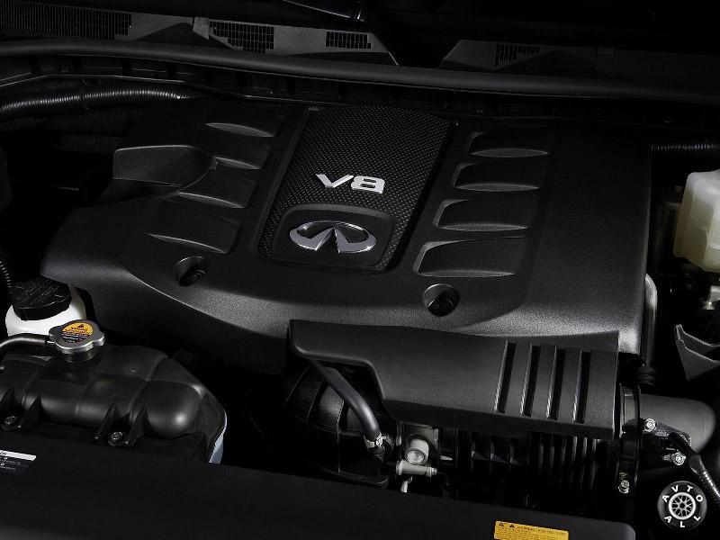 Двигатель Infiniti QX80