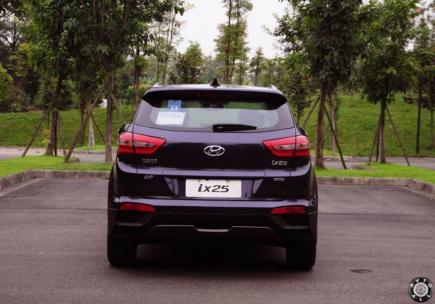 Hyundai ix25 2015 черный