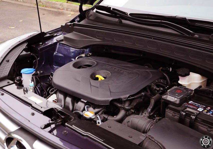Hyundai ix25 2015 двигатель