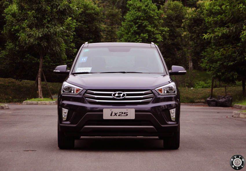 Hyundai ix25 2015 спереди