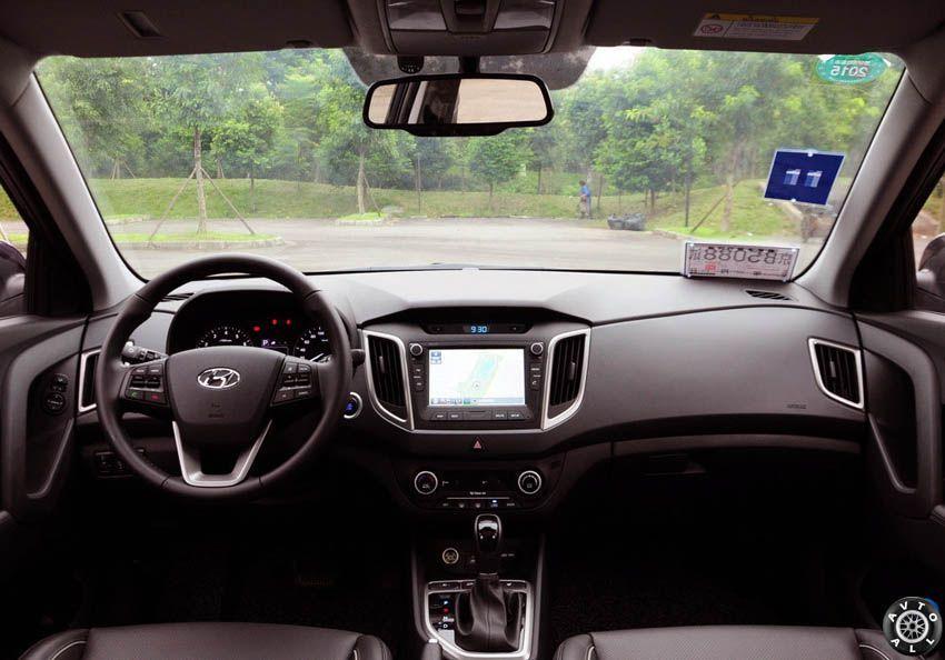Hyundai ix25 2015 консоль