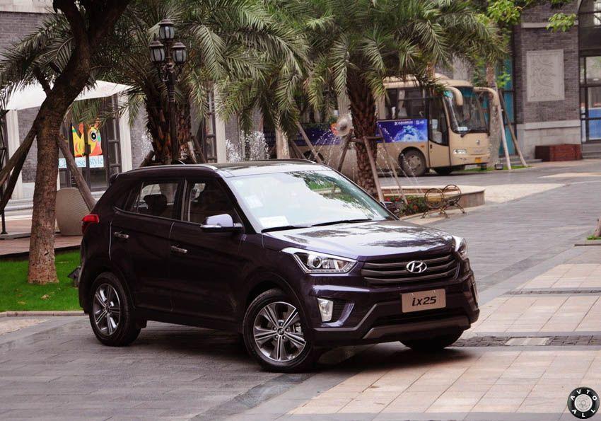 Hyundai ix25 фото