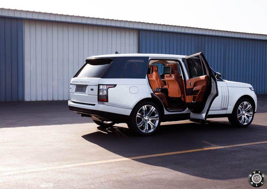 новый range rover lwb