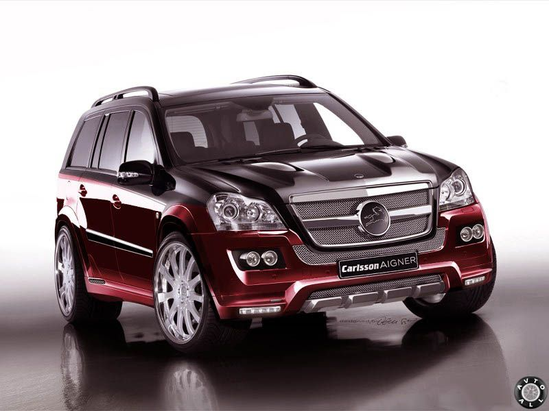 Mercedes GL профессиональный тюнинг