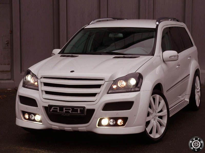 Внешний тюнинг Mercedes GL