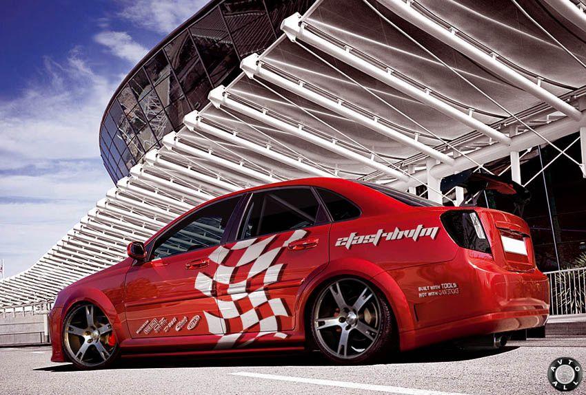 Тюнинг Chevrolet Lacetti седан