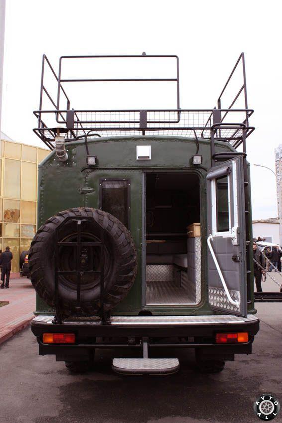 Тюнинг ГАЗ 66 своими руками
