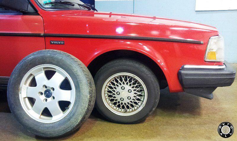 Большие колеса на замену