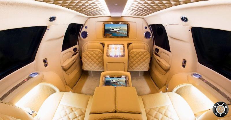 Cadillac Escalade тюнинг салона