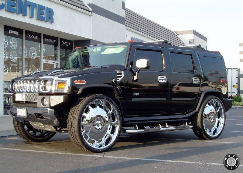 Джип с большими колесами