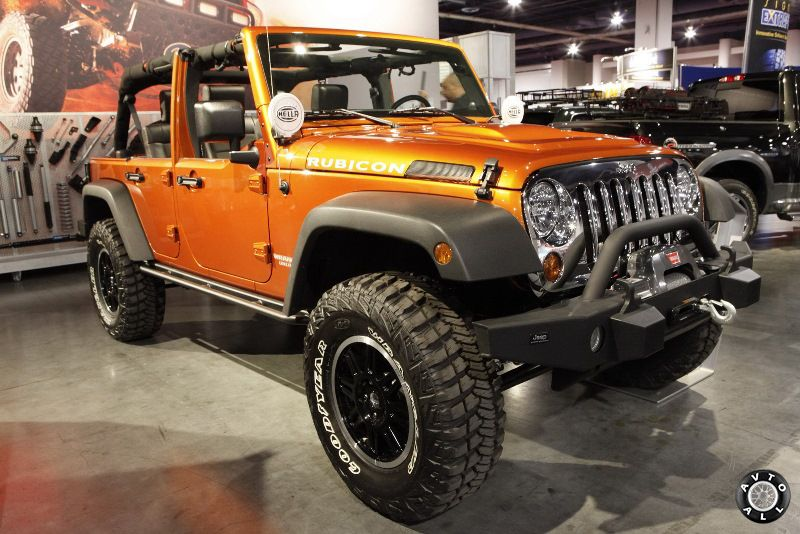 Jeep Wrangler Rubicon тюнинг фото