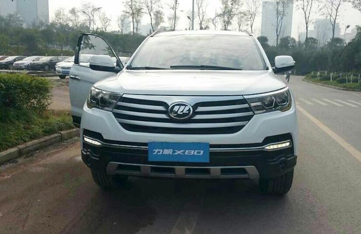 Lifan X80 представят на Шанхайском автосалоне