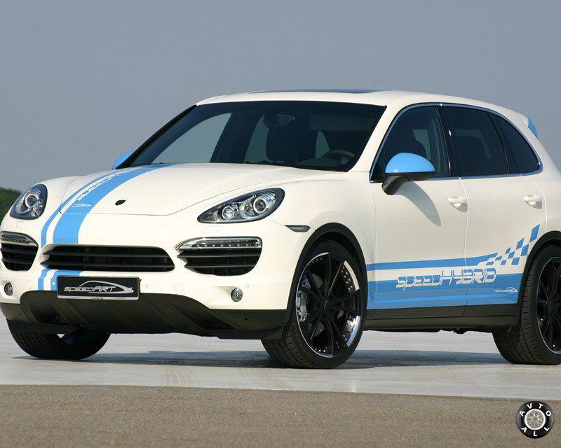 Speed HYBRID 450 на базе Porsche Cayenne S Hybrid