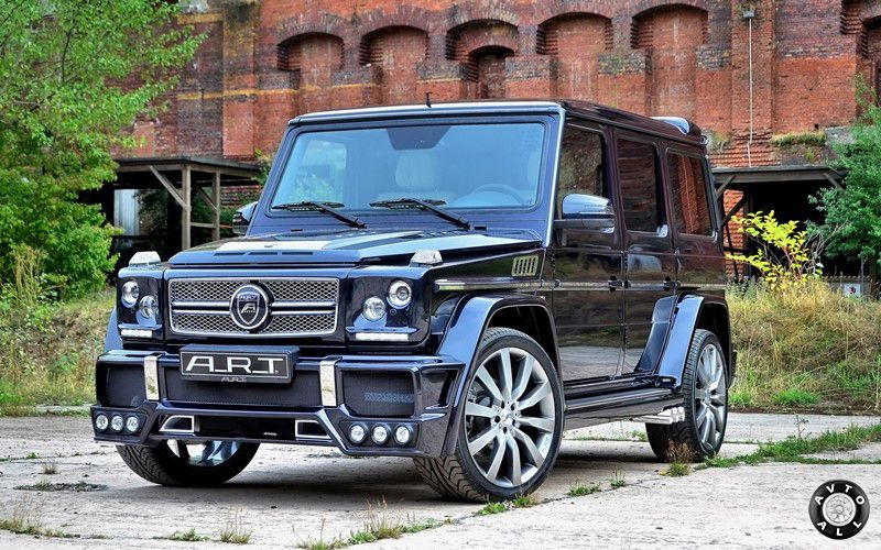 Тюнинг Mercedes-Benz G65 AMG от ART G Streetline 65 Wide Body