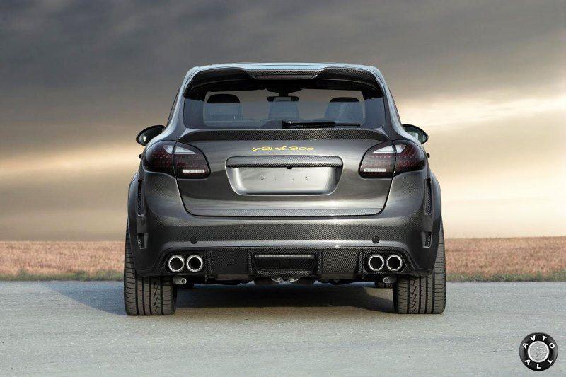 Тюнинг Porsche Cayenne S Hybrid