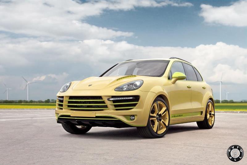 Тюнинг Porsche Cayenne от Top Car Vantage 2