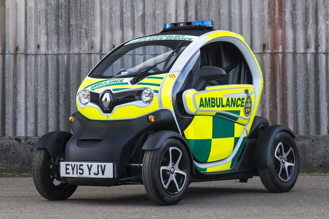 Renault собрали компактный электромобиль для скорой помощи