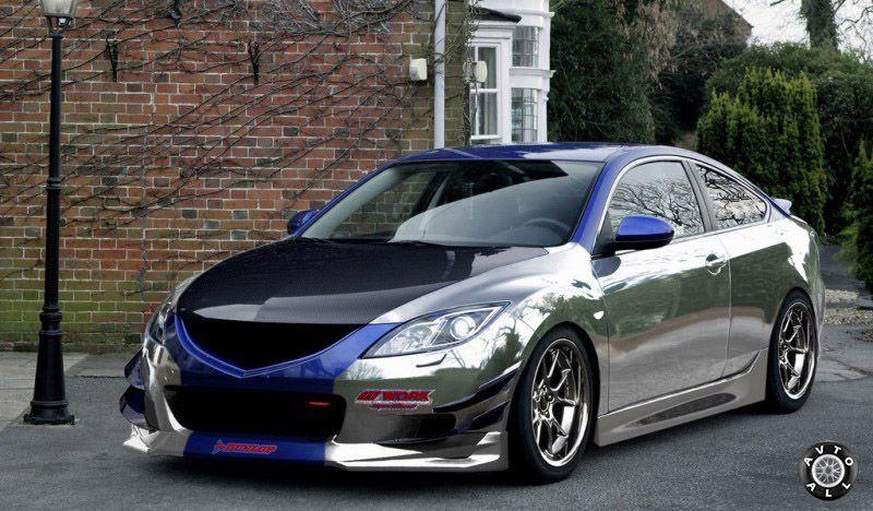 Автомобиль Mazda 6 тюнинг кузова