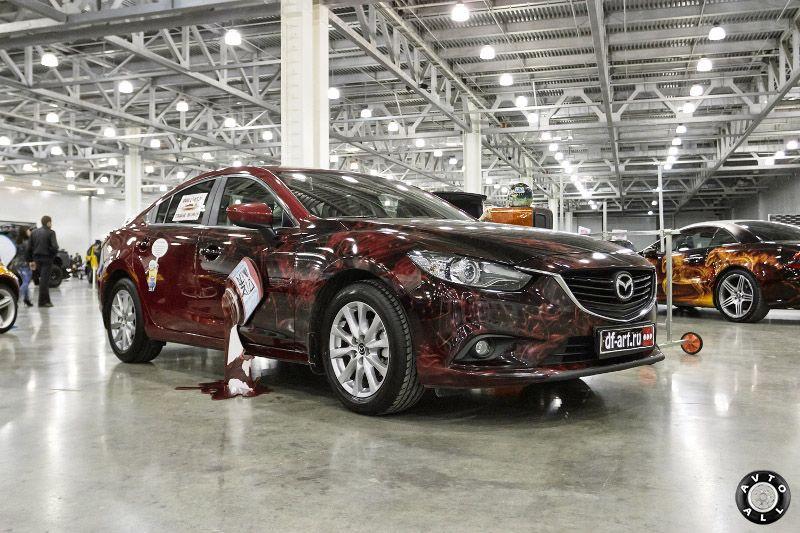 Необычный тюнинг Mazda 6