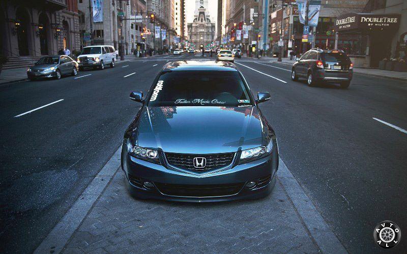 Простой внешний тюнинг кузова Honda Accord