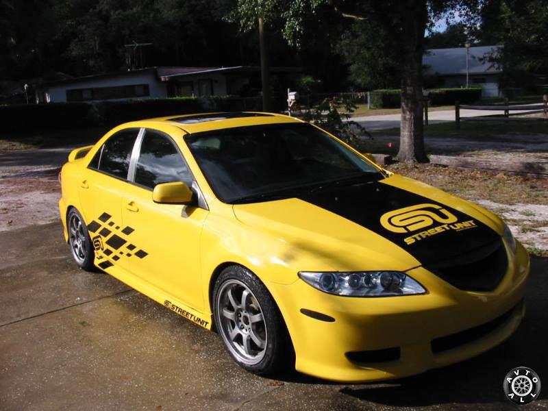 Спортивный тюнинг Mazda 6