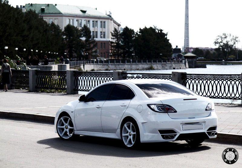 Тюнинг обвеса на Mazda 6