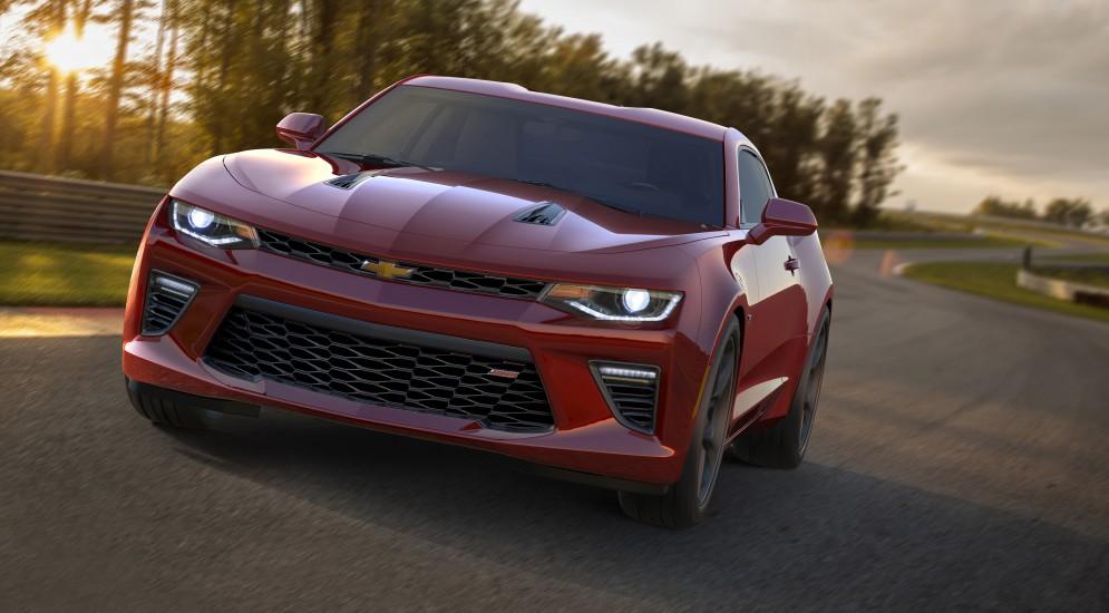 Chevrolet выпускает шестое поколение muscle car Camaro