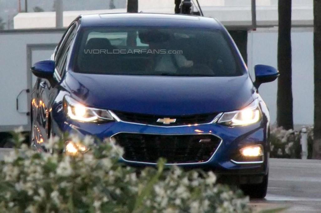 Новый седан Chevrolet Cruze американской сборки уже в этом году