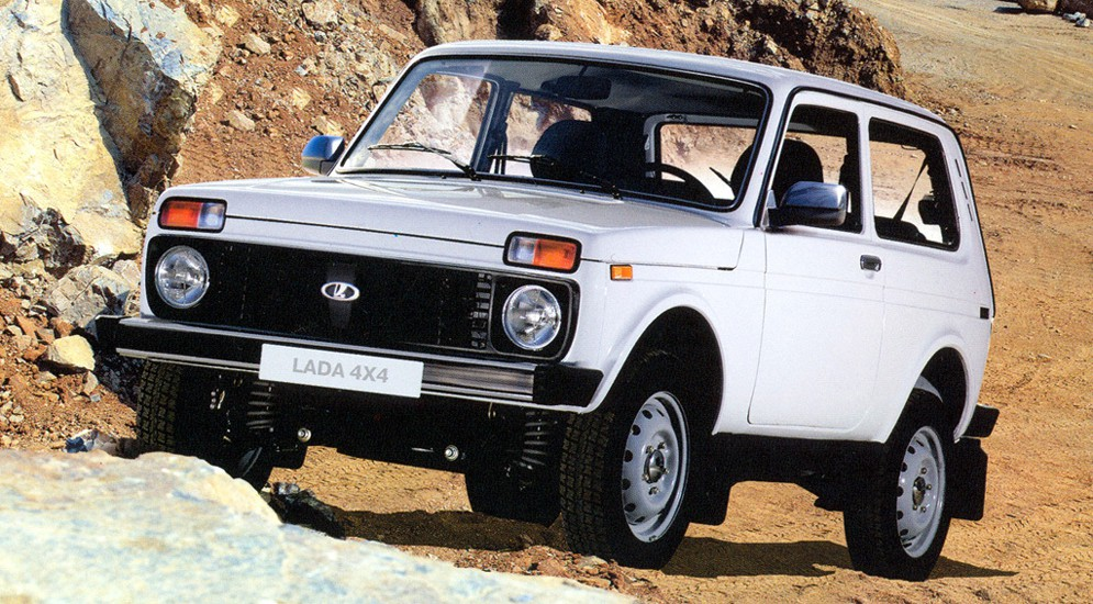 Модернизация Lada 4x4 продолжается