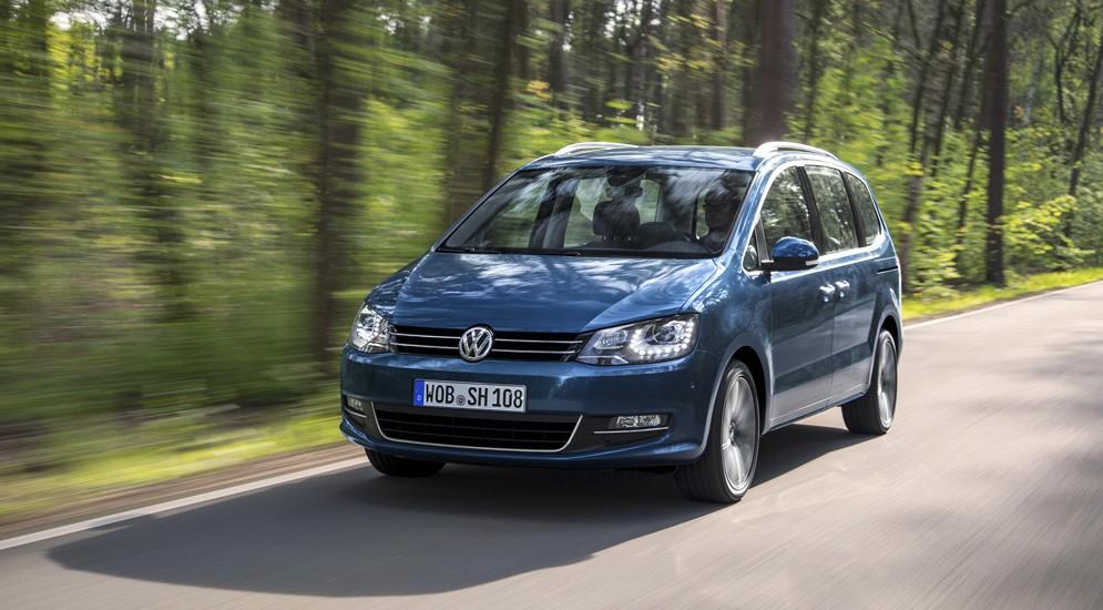 """VW Sharan после рестайлинга стал меньше """"кушать"""""""