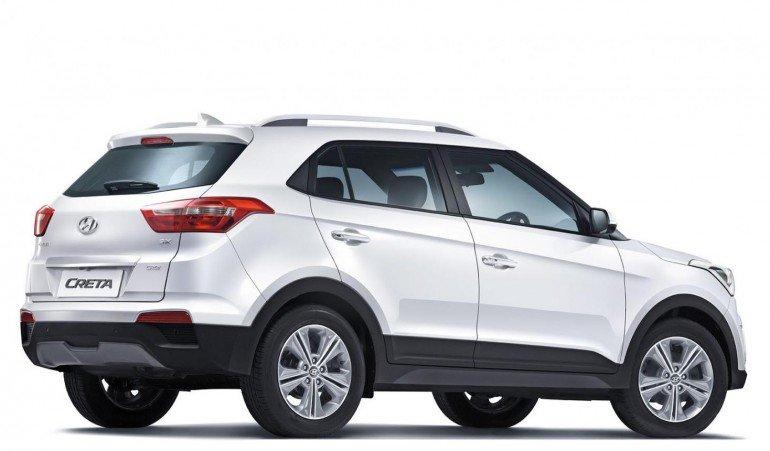Новый паркетник от индусов Hyundai Creta
