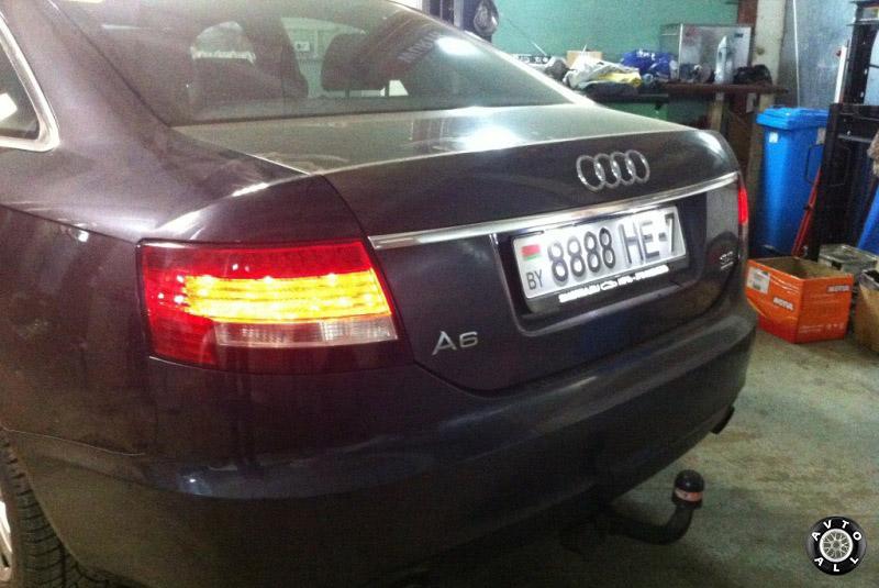 Audi A6 проблема со светодиодами