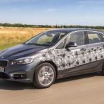 """Новая """"двойка"""" BMW кушает два литра за сто километров"""