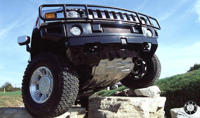 Днище внедорожника Hummer H2