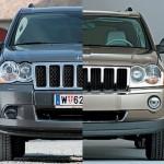 Фото рестайлинг Jeep Grand Cherokee 2008 года