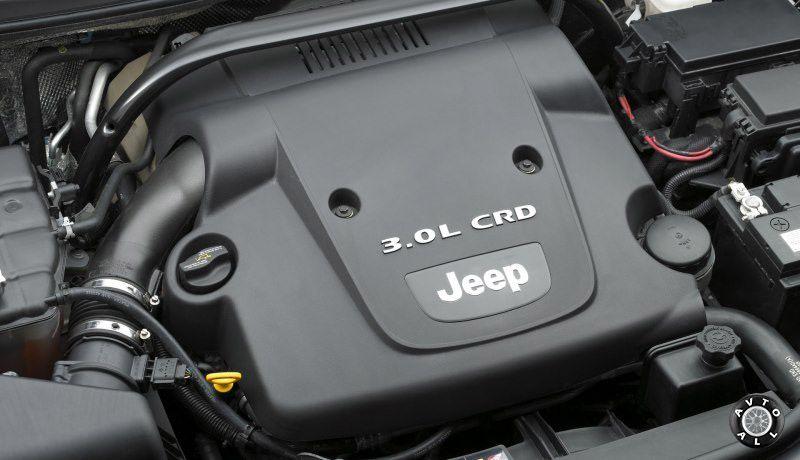 Jeep Grand Cherokee 2008 год двигатель автомобиля