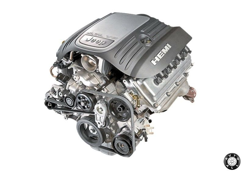 Jeep Grand Cherokee 5,7 HEMI двигатель