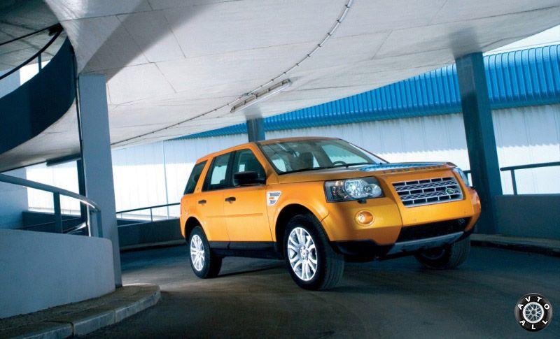 Land Rover Freelander 2 поколение